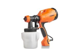 VonHaus Electric HVLP Spray Gun High Power Paint Sprayer with 3 Adjustable Spray Pattern