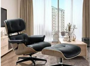 Lounge Recliner Chair and Ottoman by Rimdoc