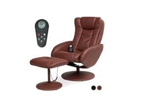 Best Choice Products Faux Leather Electric Massage Recliner