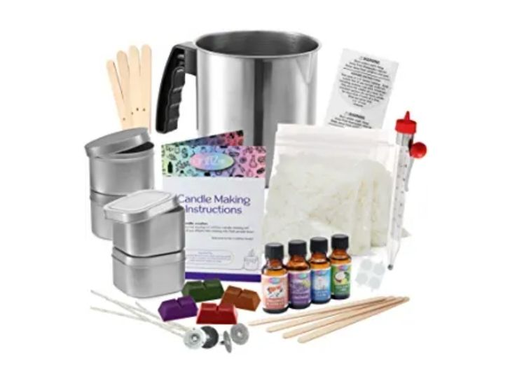 Complete DIY Candle Making Kit Supplies by CraftZee