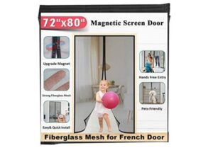 Mkicesky Fiberglass Magnetic Screen Door