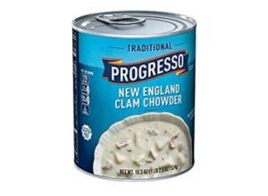 Progresso Traditional Soup, New England Clam Chowder, 18.5 oz
