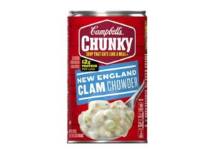 Campbell's Chunky Soup, New England Clam Chowder, 18.8 oz