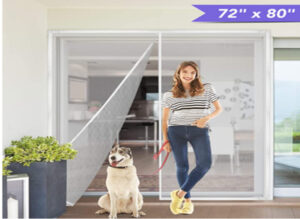 Titan Mall Upgraded Magnetic Screen Door