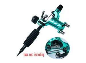 Tattoo Machine, New Star Tattoo Dragonfly Rotary Tattoo Machine Shader & Liner 7 Colors Assorted Tatoo Motor Gun Kits Supply for Artists(Tube not Including)(Green)