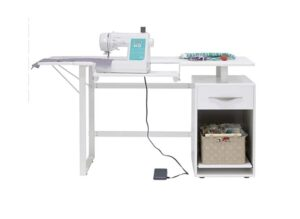 Sew Ready, White Pro Line Craft, Sewing Table,