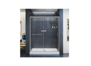 DreamLine Infinity-Z 56-60 in. W x 72 in. H Semi-Frameless