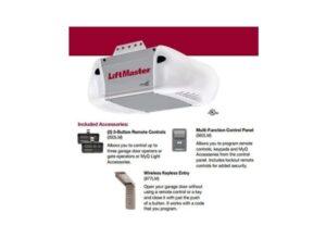 LiftMaster 8365-267 Premium Series 1/2 HP AC Chain Drive Garage Door Opener