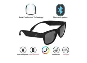 G1 Bone Conduction Headphones Polarized Glasses Sunglasses