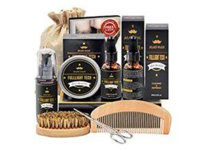 Beard Kit for Men Grooming & Care W/Beard Wash/Shampoo