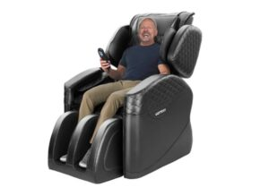 KASPURO Shiatsu Massage Chair Recliner with Lower Back Heating and Foot Roller