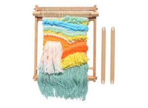 Weaving Loom Beech Wood Creative DIY Weaving Art Multi-Craft Weaving Loom Arts & Crafts