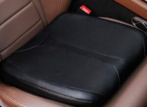 QUILAY Leather Car Memory Foam Heightening Seat Cushion  Perfect for cars