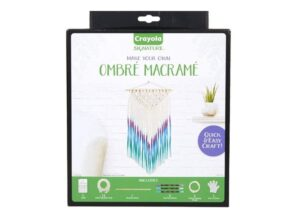 Crayola DIY Macrame Wall Hanging Kit