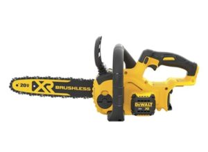 DEWALT 20V MAX XR Chainsaw, 12-Inch