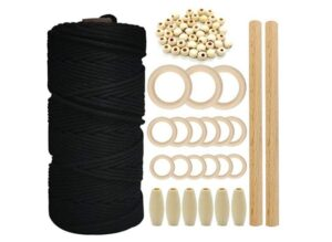 Ewparts Macrame Cotton Rope Set