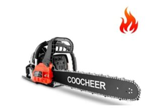 COOCHEER 62CC Gas Powered Chainsaw