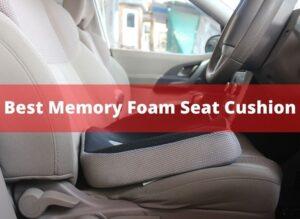 Best Memory Foam Seat Cushion