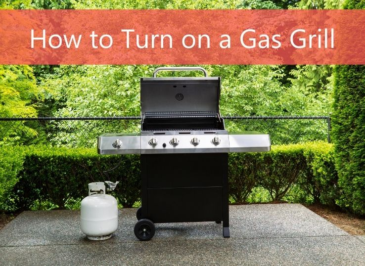 How to turn on a Gas Grill