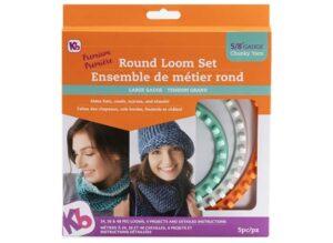 Authentic Knitting Board 'Premium' Chunky Round Knitting Loom Set