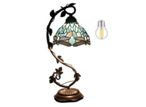 Tiffany craft Lamp with Stained Glass
