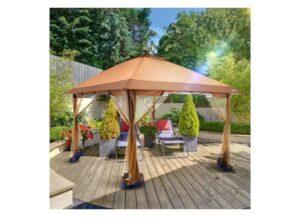 Suntime Outdoor Pop Up Gazebo Canopy