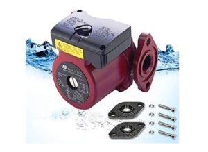 AB WiseWater Circulation Pump, Hot Water Recirculating Pump, 3 Speed Switchable Circulator Pump