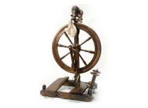 Kromski Sonata Spinning Wheel Walnut Finish W/Bag