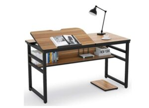 Tribesigns Modern Drafting Desk Drawing Table