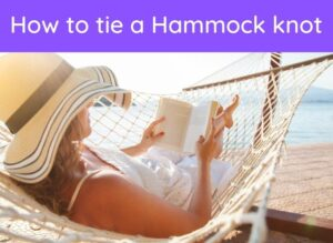 How to tie a hammock knot