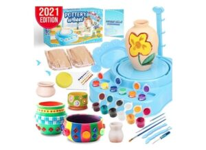 Insnug Pottery Wheel Art Craft Kit - Arts and Crafts Kids