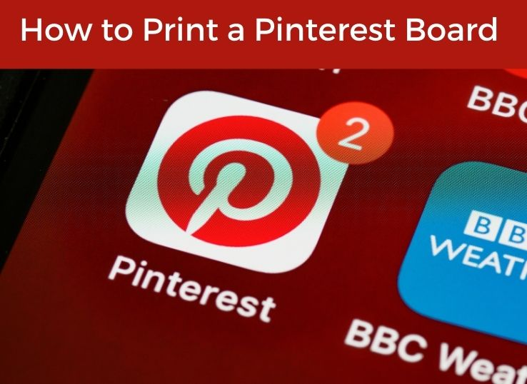 How to Print a Pinterest Board