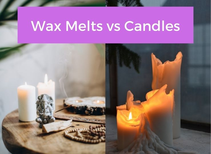 Wax Melts vs Candles