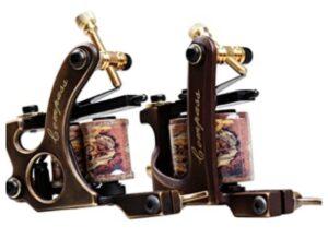 DRAGONHAWK 2 pieces brass coils tattoo machine