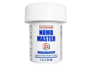 Numb master topical numbing cream