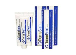 Numb skin topical anesthetic numbing cream