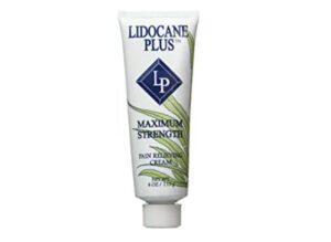 Lidocaine plus pain-relieving cream