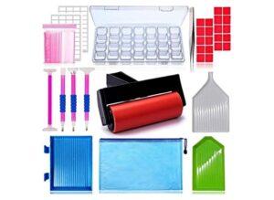 HULAMEDA 56ps- 5D Diamond Painting Accessories & Tools Kits