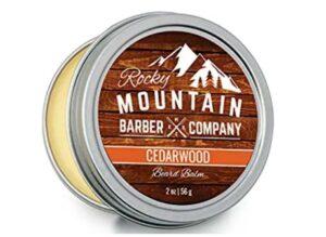 ROCKY MOUNTAIN BEARD COMPANY CEDARWOOD BEARD BALM