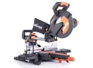 Evolution R255SMS+ 10-Inch Multi-Material Sliding Miter Saw